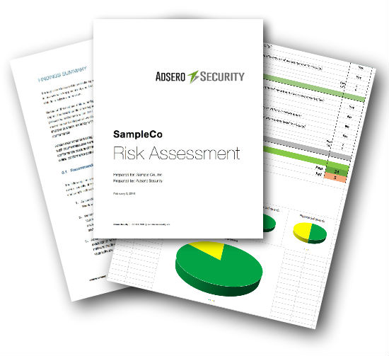 Risk Assessment Sample Document Preview