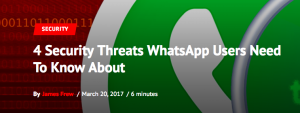 Are Your Group Chat Messages Safe?